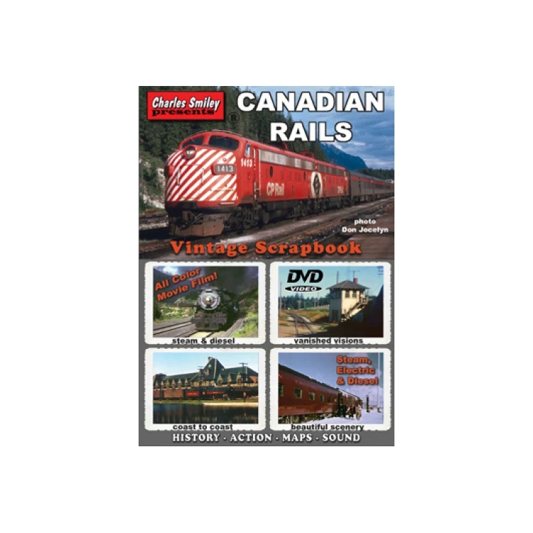 DVD: Canadian Rails Vintage Scrapbook
