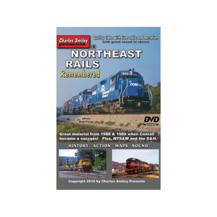 DVD: Northeast Rails Remembered