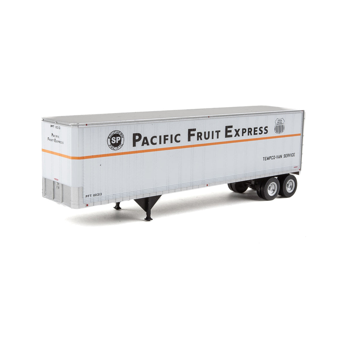 HO Scale: 40' Trailmobile Trailer - Pacific Fruit Express - 2-Pack