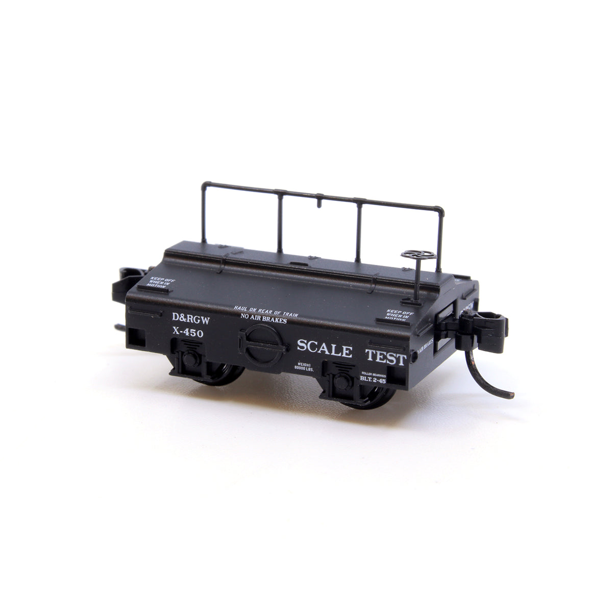 N Scale: Scale Test Car - Rio Grande