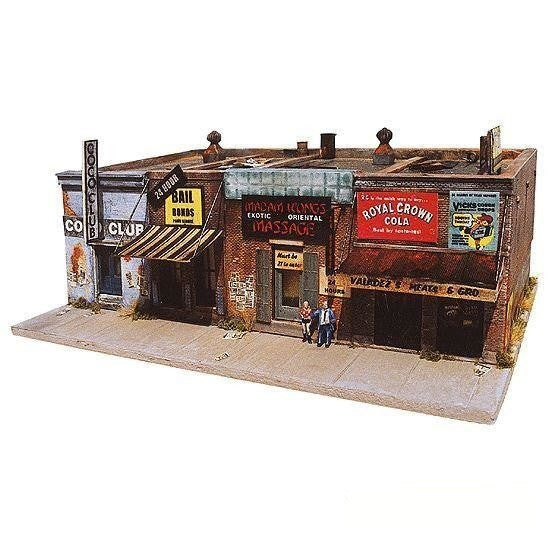HO Scale: Addam's Ave. - Part II