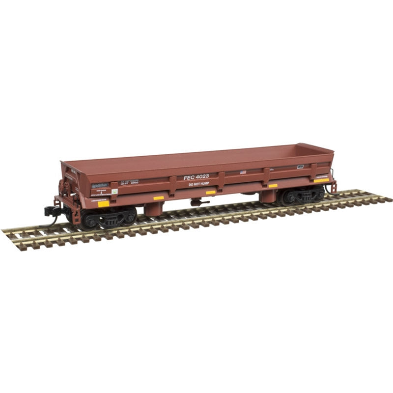 N Scale: Difco Side Dump Car - Florida East Coast