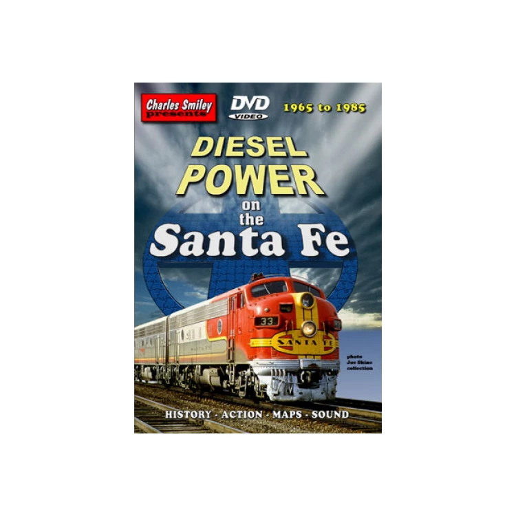 DVD: Diesel Power on the Santa Fe, 1965-1985