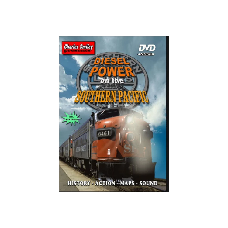 DVD: Diesel Power on the Southern Pacific, 1942-1985