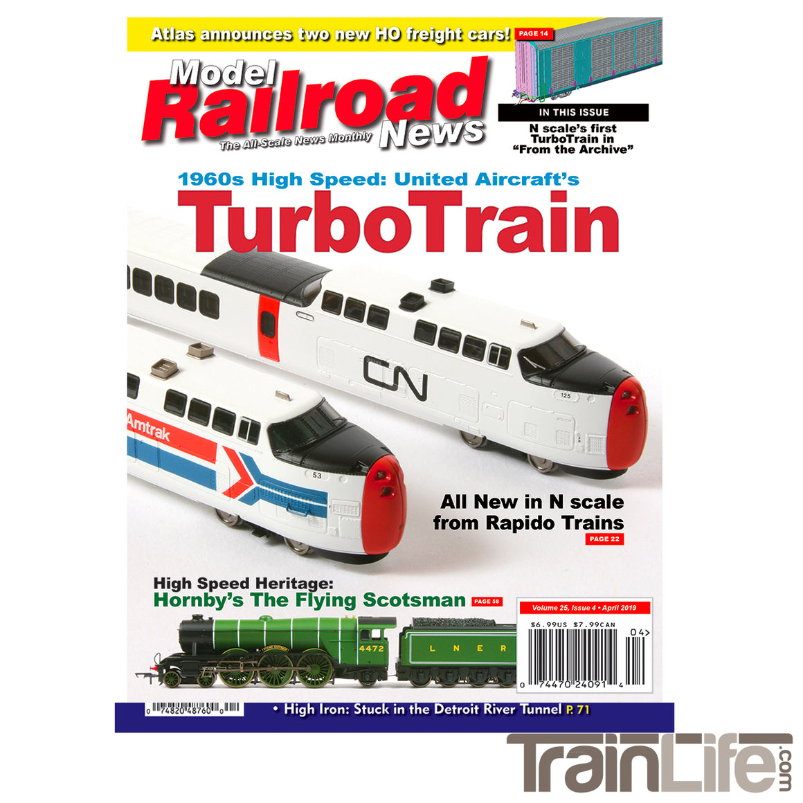 Magazine: Model Railroad News - April 2019