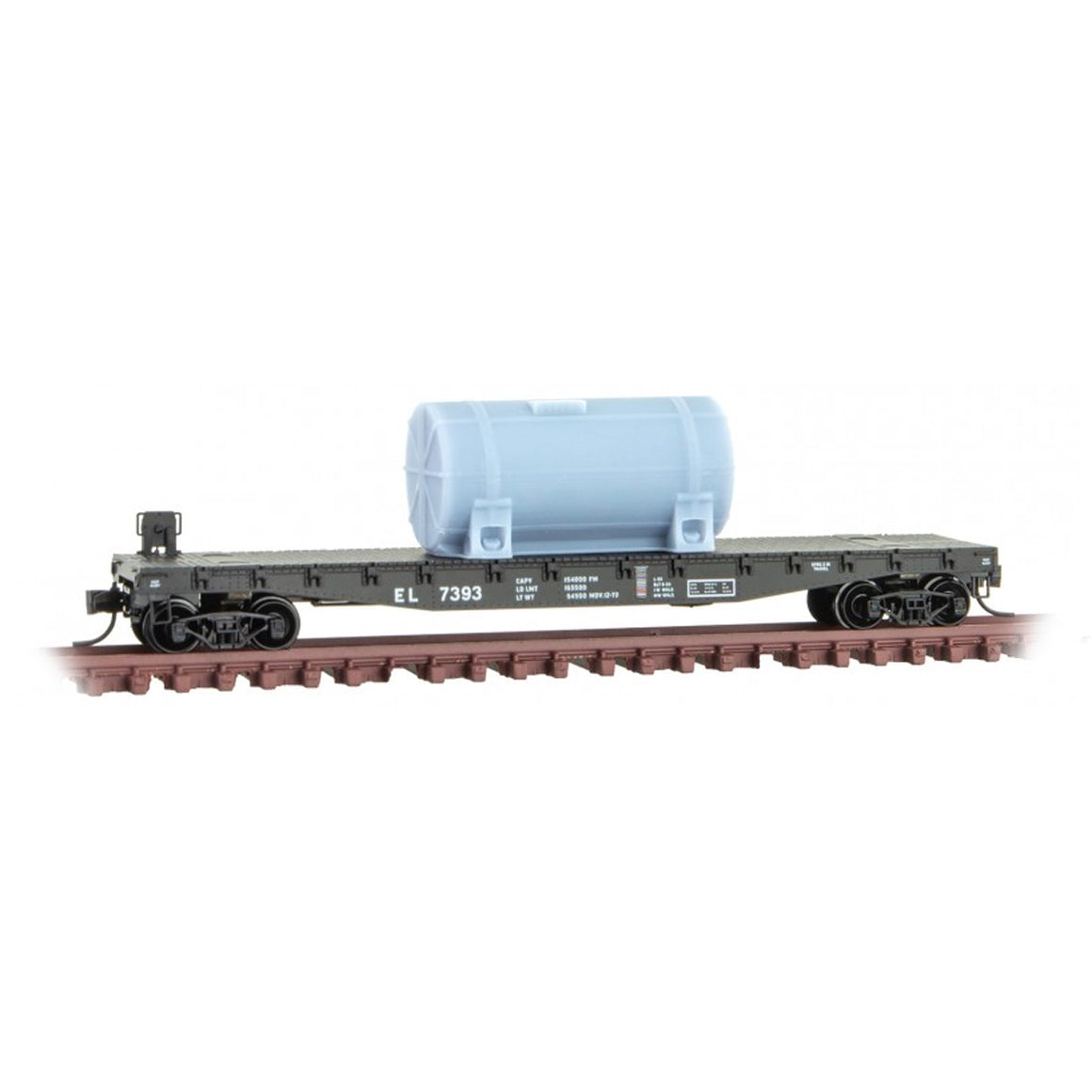 N Scale: 60-ft Arched Roof Baggage Express car - Delaware Lackawanna & Western