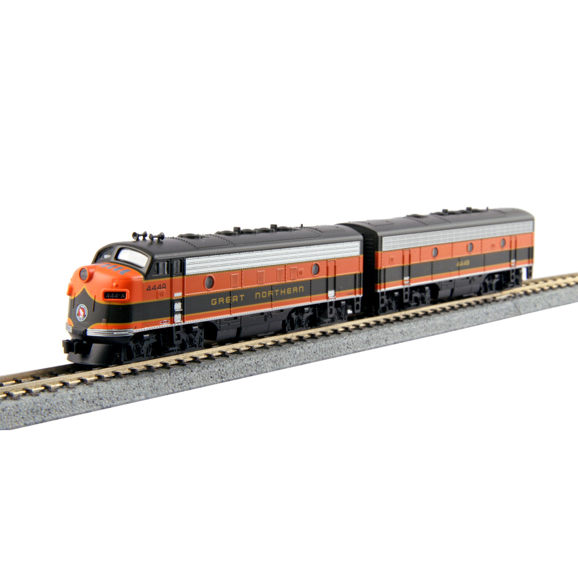 N Scale: EMD FP7A and F7B w/ DCC  - Great Northern