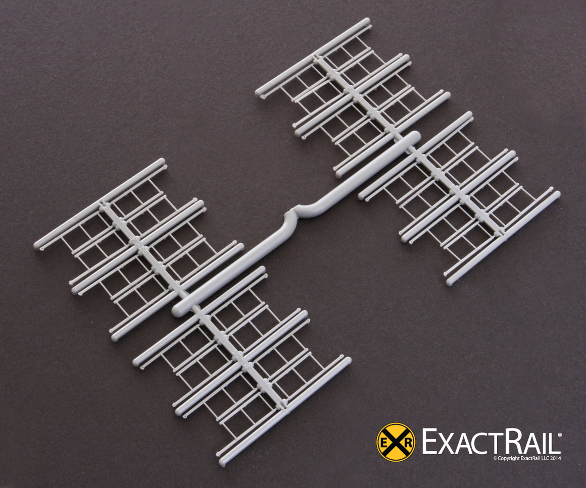 HO Scale: Ladder, 3-rung with tall ladder style