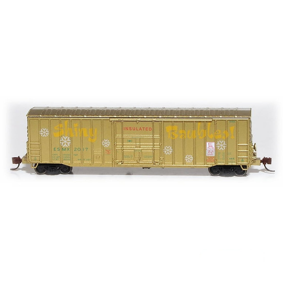 N Scale: Despatch Shops 50' Boxcar - Class X65 - Holiday Car