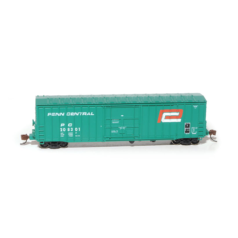 N Scale: Pennsylvania 50' Boxcar, Class X58 - Penn Central