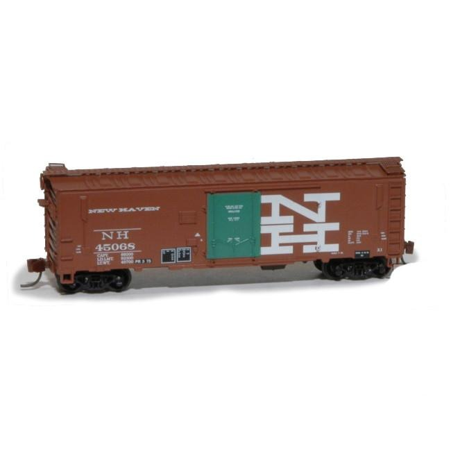 N Scale: PC&F XIH Boxcar : New York, New Haven & Hartford Repaint