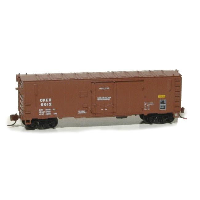 N Scale: Magor XIH Boxcar - Okee Incorporated