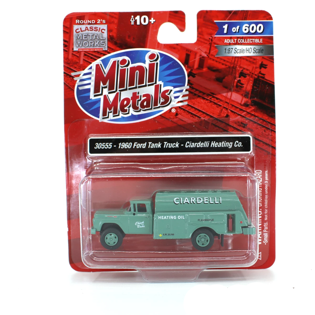 HO Scale: 1960 Ford Tank Truck - Ciardelli Heating Co.