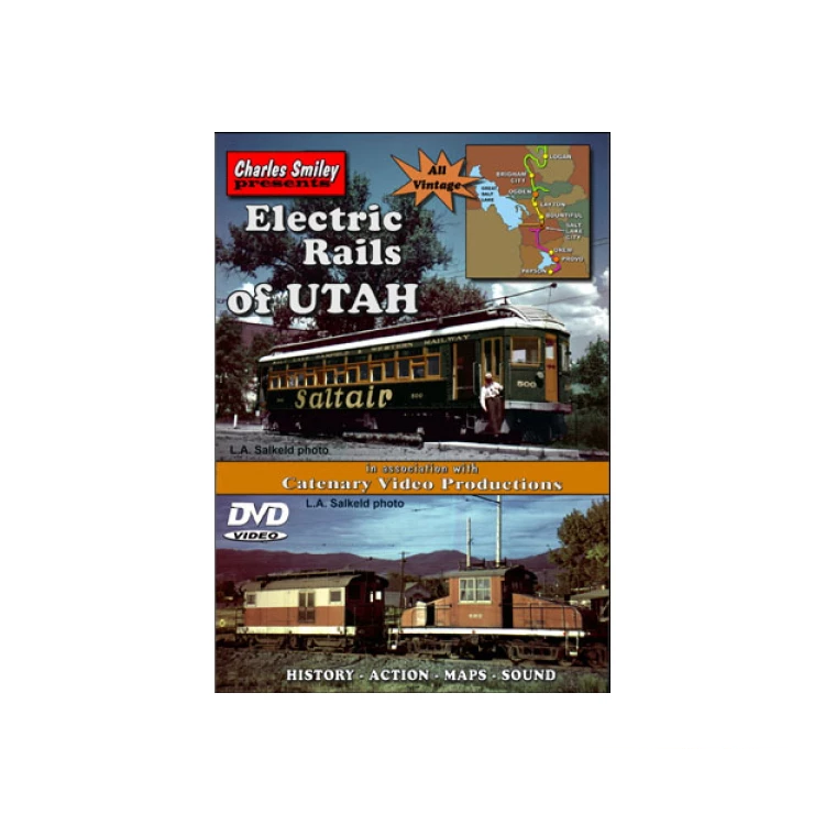 DVD: Electric Rails of Utah