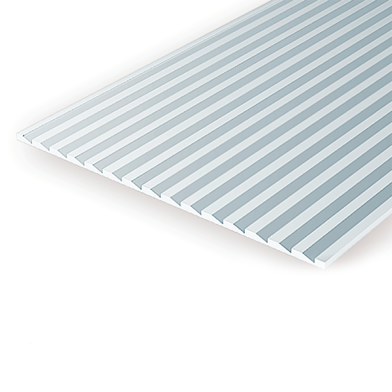 "Polystyrene: .040 Novelty Siding Sheets - 6""x12"""
