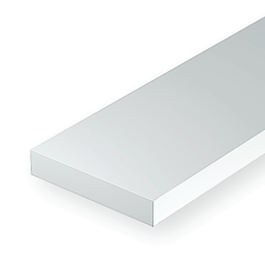 "Polystyrene: Dimensional 14"" Strip - .060 Thickness"