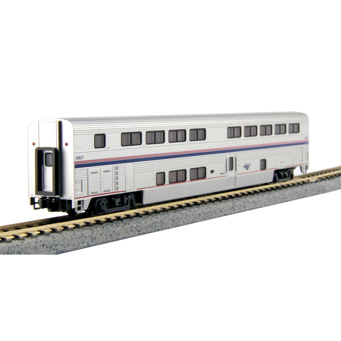 N Scale: Amtrak Superliner II Phase IVb Transition Sleeper