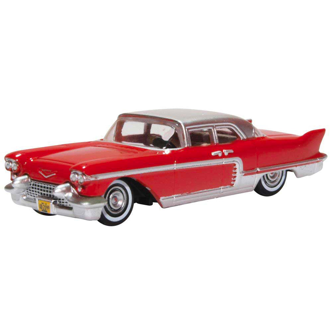 HO Scale: 1957 Cadillac Eldorado - Dakota Red