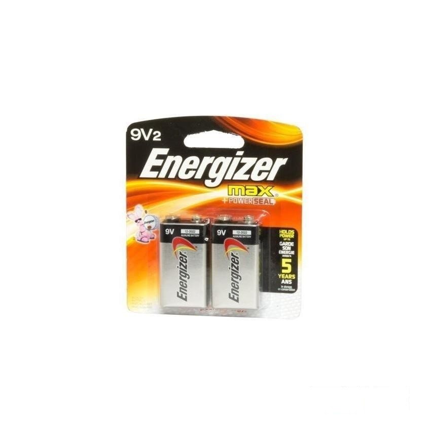 Batteries: 9 Volt - 2 Pack