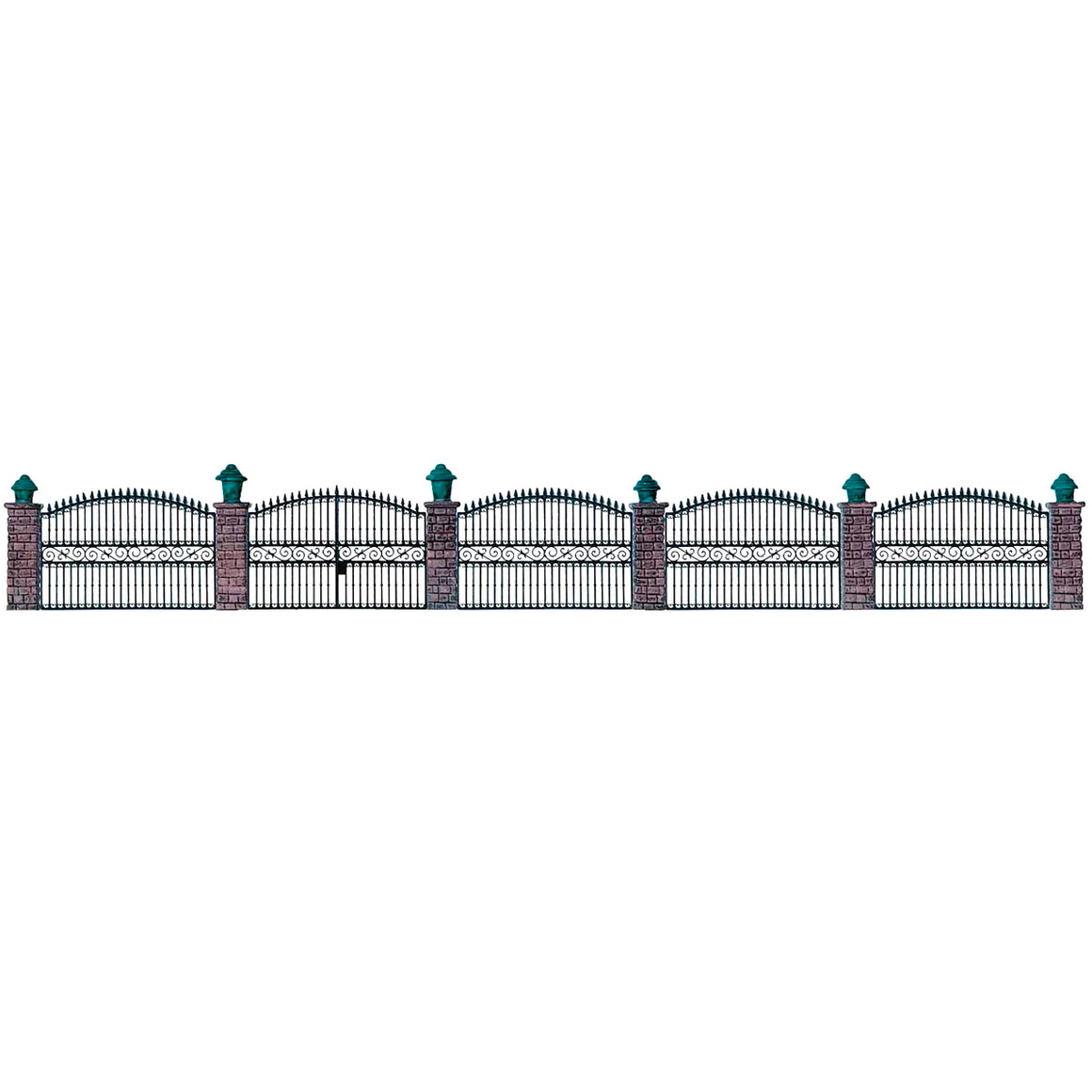 HO Scale: Wrought Iron Fence - Kit