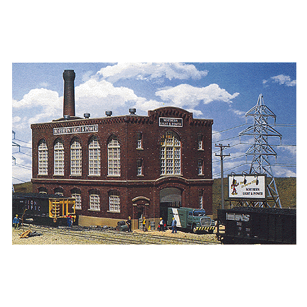 N Scale: Northern Light & Power Powerhouse