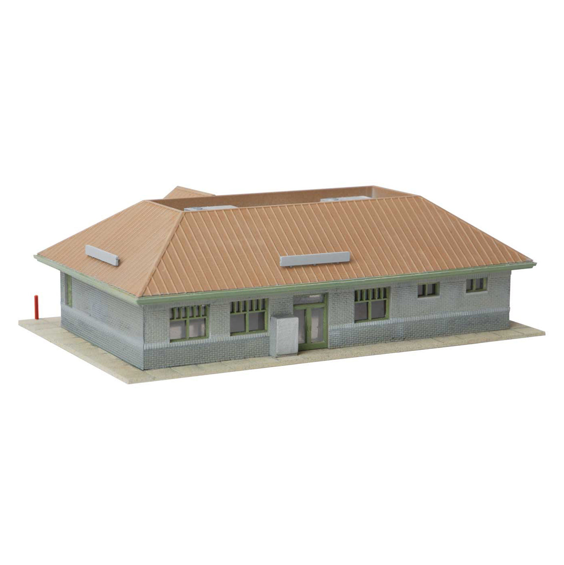 N Scale: Modern Suburban Station - Kit