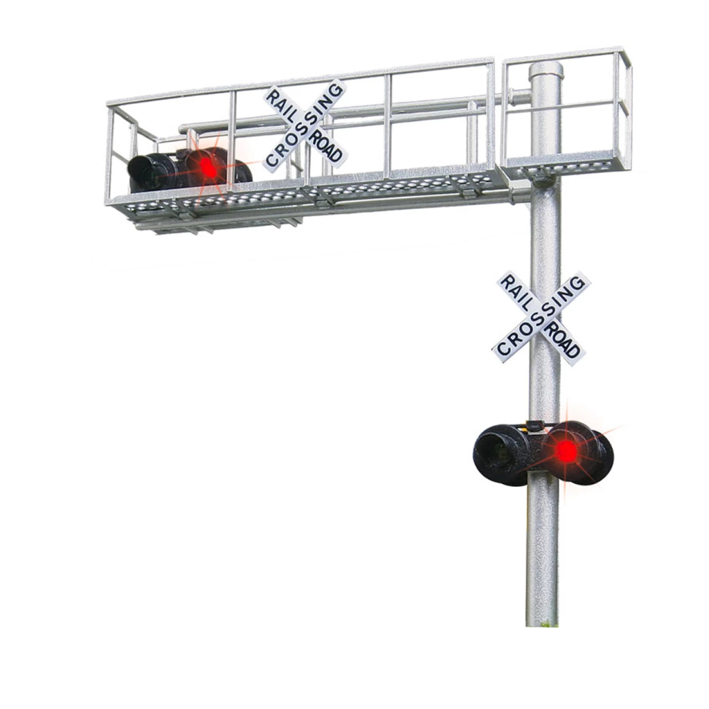 HO Scale: Cantilever Crossing Signal - Single Lane