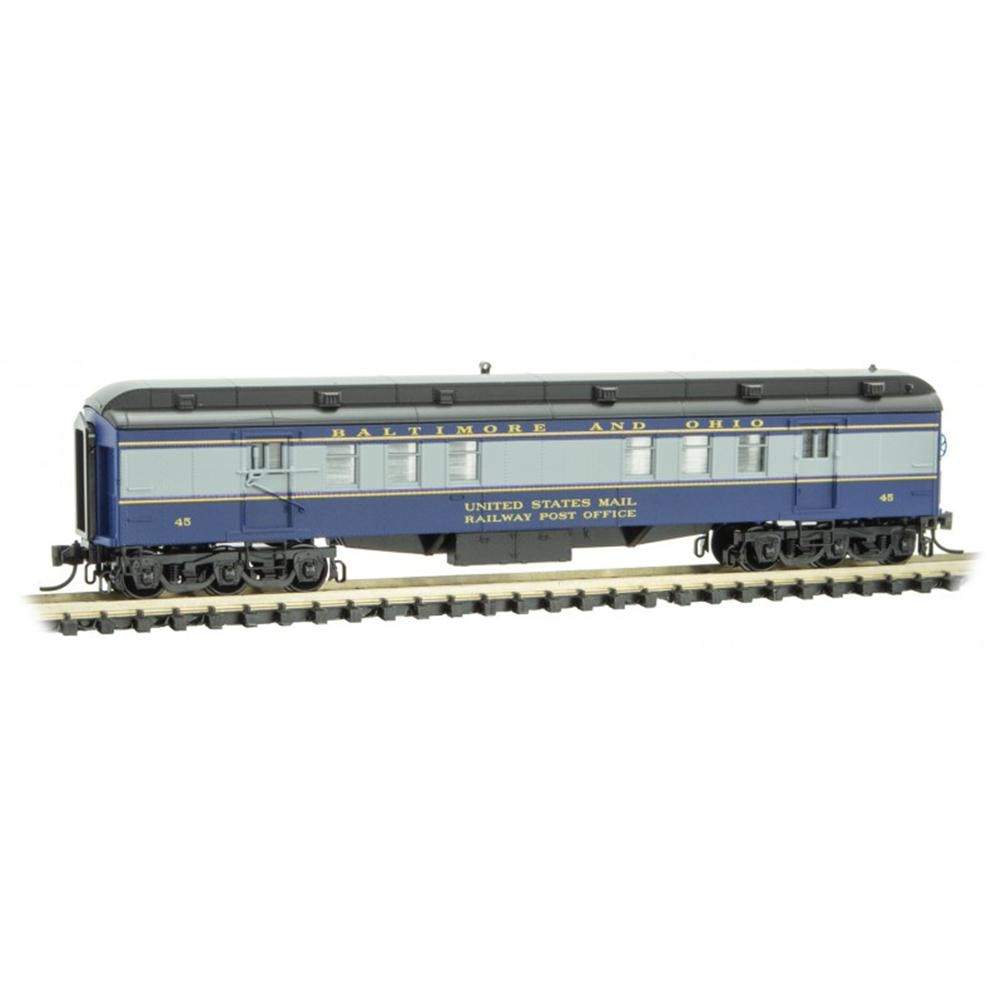 N Scale: RPO Heavyweight Passenger Car - B&O