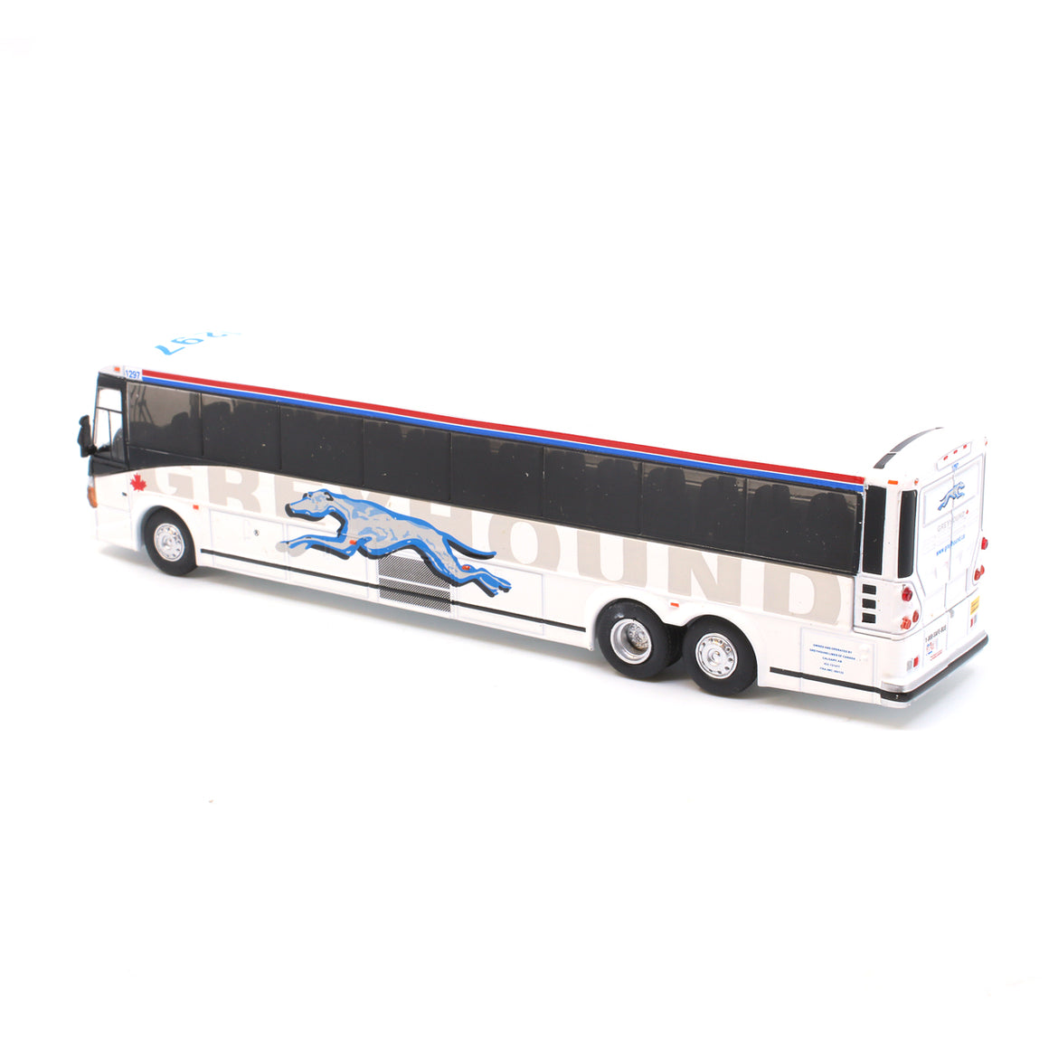 HO Scale: MCI D4505 Bus - Greyhound Canada