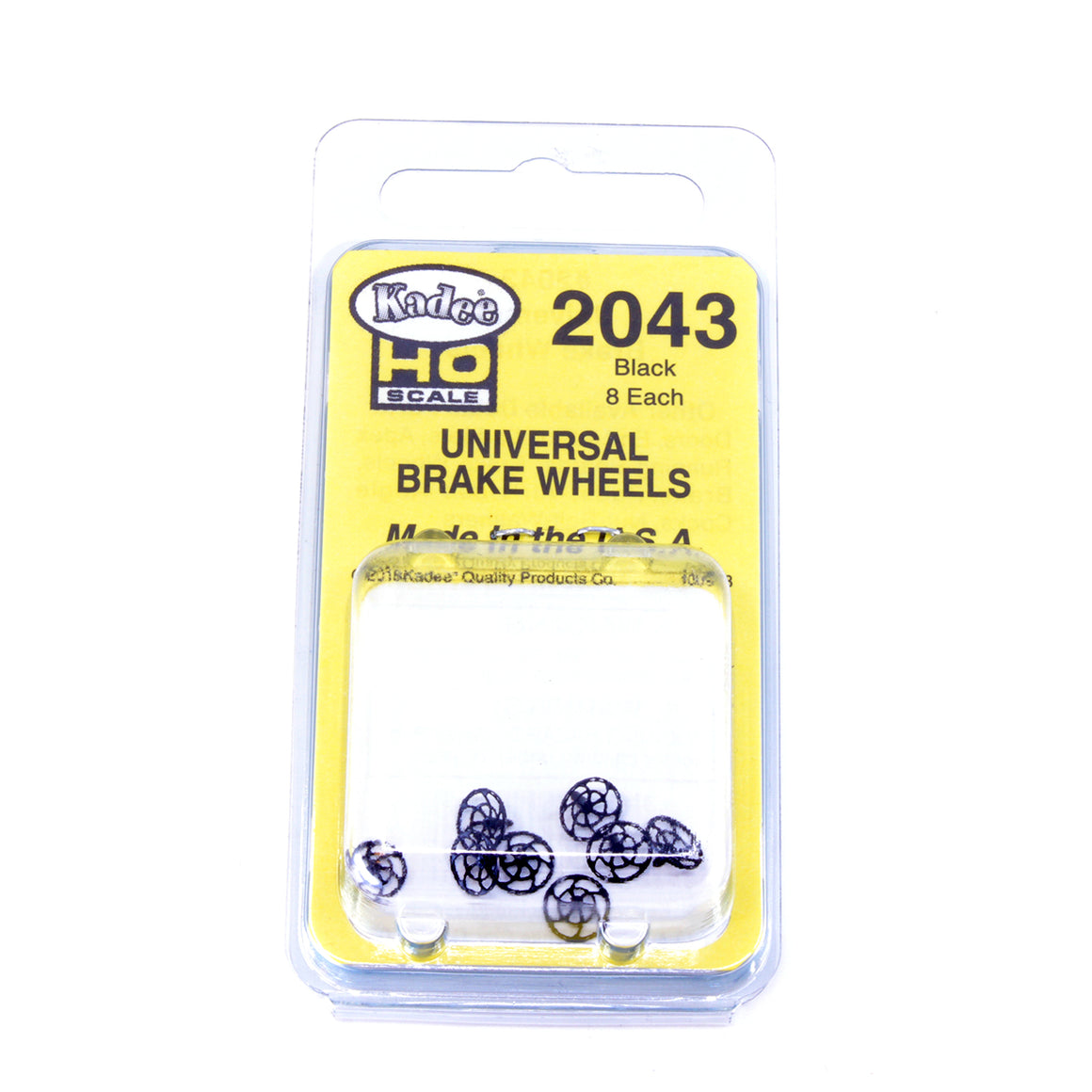 HO Scale: Kadee Detail Parts - Universal Brake Wheel