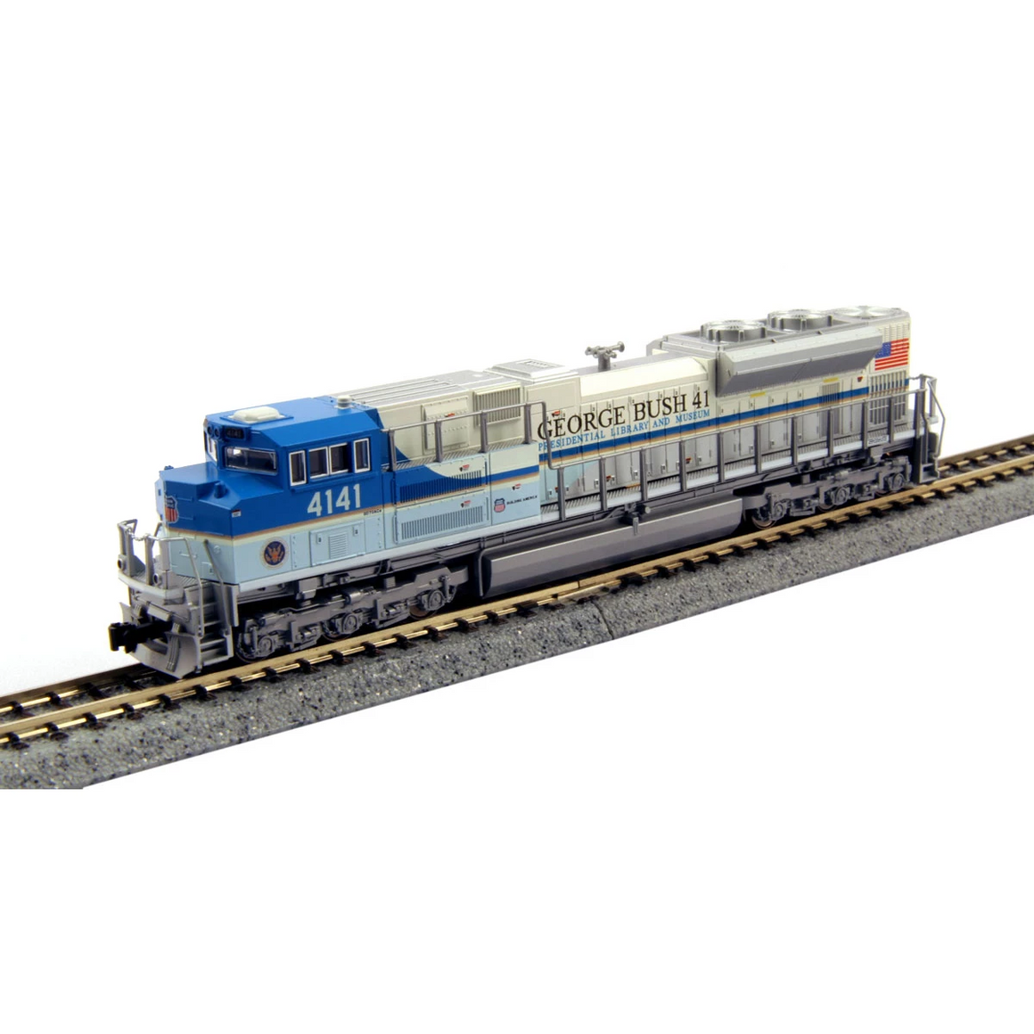 N Scale: EMD SD70ACe - DCC & Sound - Union Pacific 'George Bush Library and Museum'