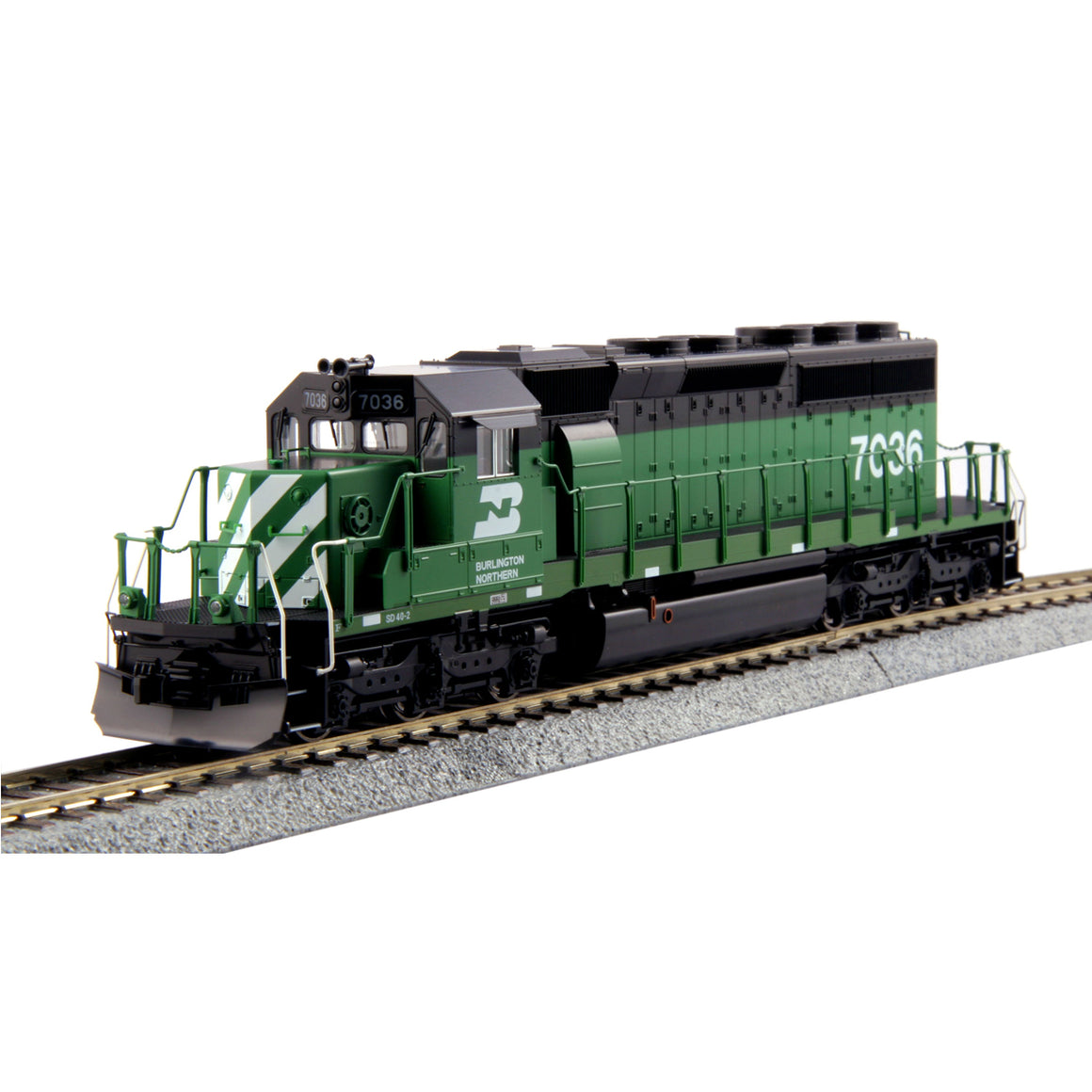 HO Scale:  EMD SD40-2 Mid-Production - DCC Equipped - Burlington Northern