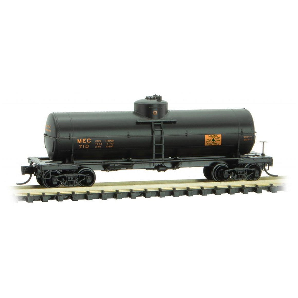 N Scale: 39' Single Dome Tank Car - Maine Central