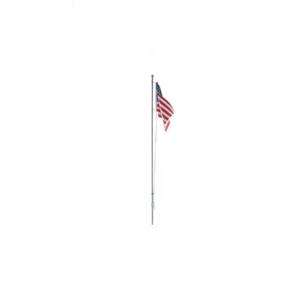 HO Scale: Just Plug® U.S. Flag - Pole Mount