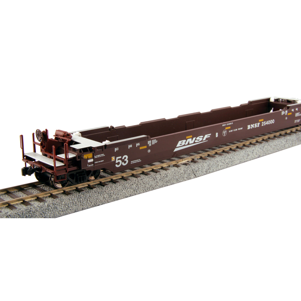 HO Scale: Gunderson Maxi-IV Articulated Well Cars - BNSF 'Swoosh'