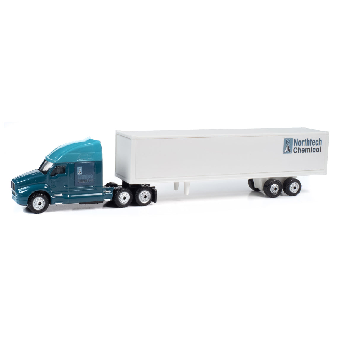 HO Scale: 2000's Semi Tractor & Trailer - Northtech Chemical