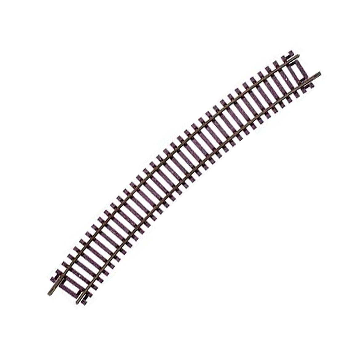 HO Scale: Code 83 Snap Track - Curves - Various Radii - 6 Pack