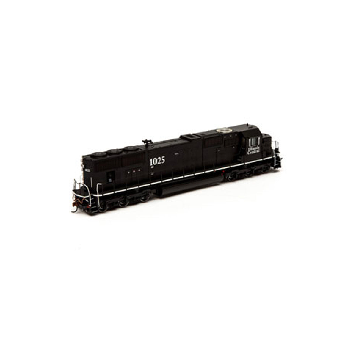 HO Scale: EMD SD70 - DCC Ready - Illinois Central 'White Sill'