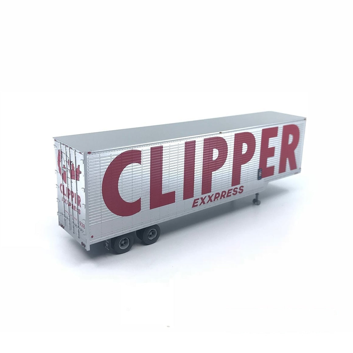 HO Scale: 40' Drop Frame Trailer - Clipper Express