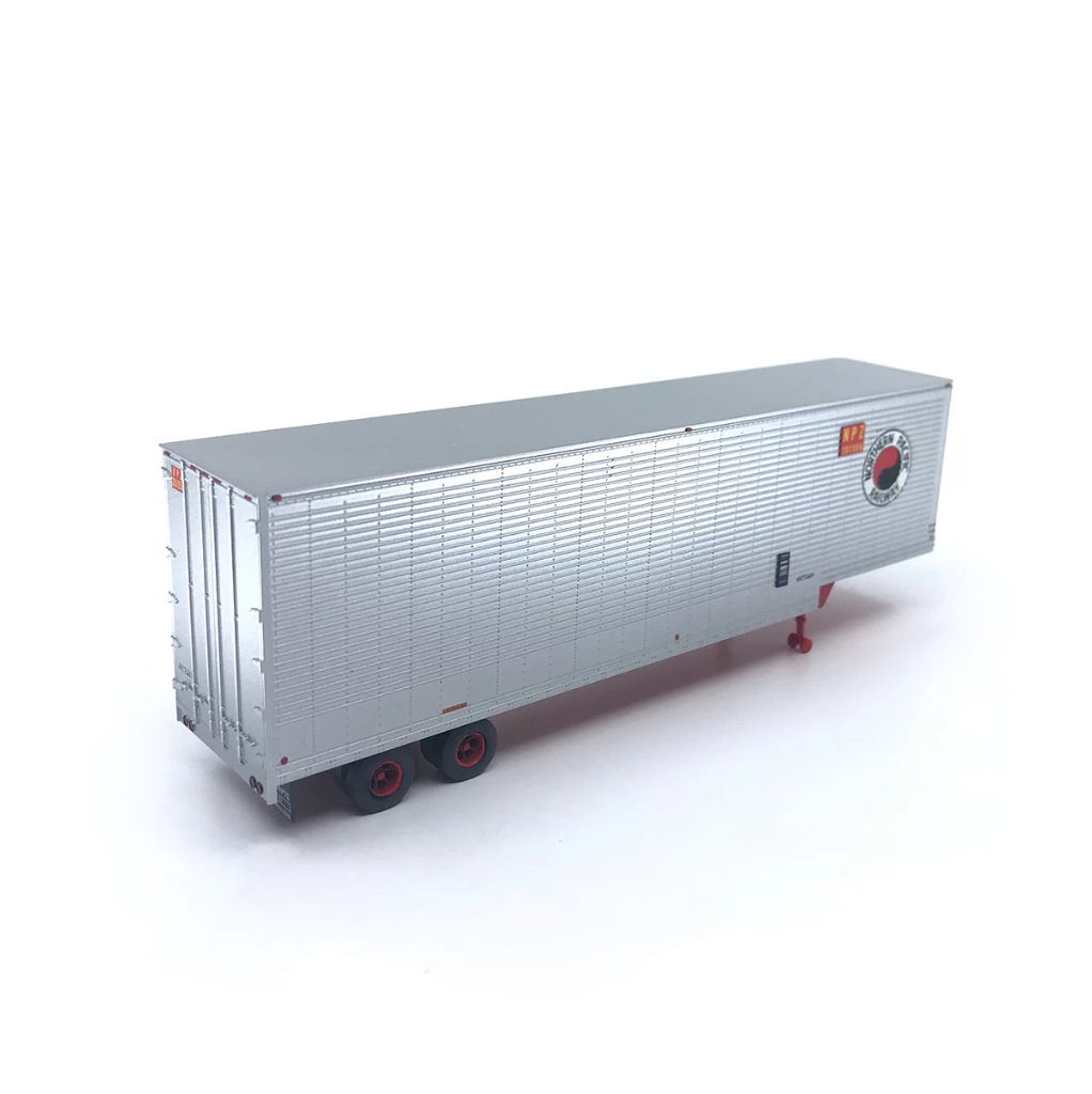 HO Scale: 40' Drop Frame Trailer - Timpte Built - Northern Pacific