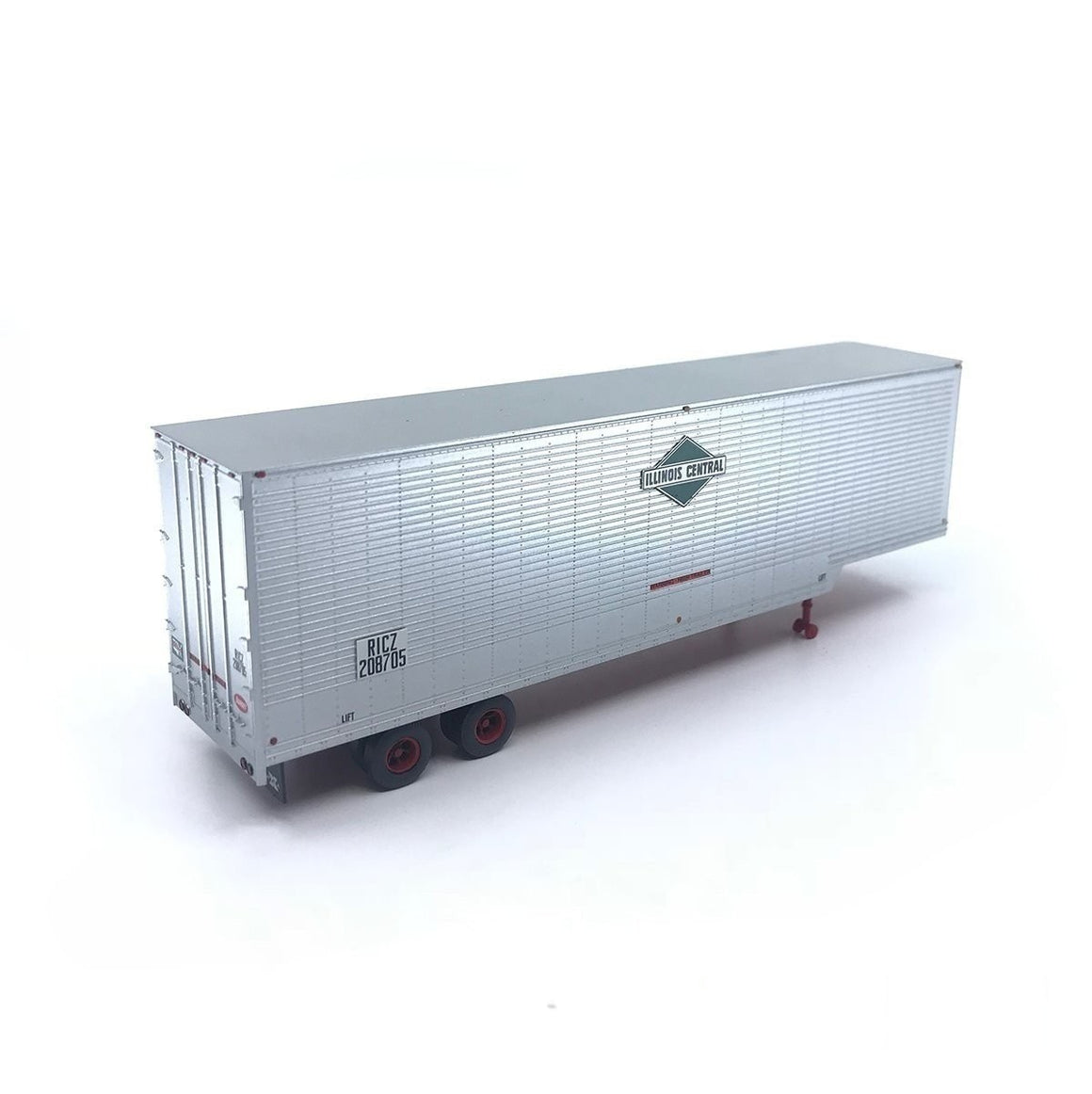 HO Scale: 40' Drop Frame Trailer - Illinois Central