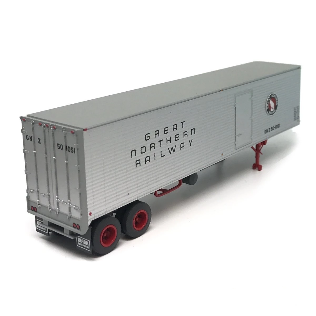 HO Scale: 40' Corrugated Semi Trailer - Great Northern