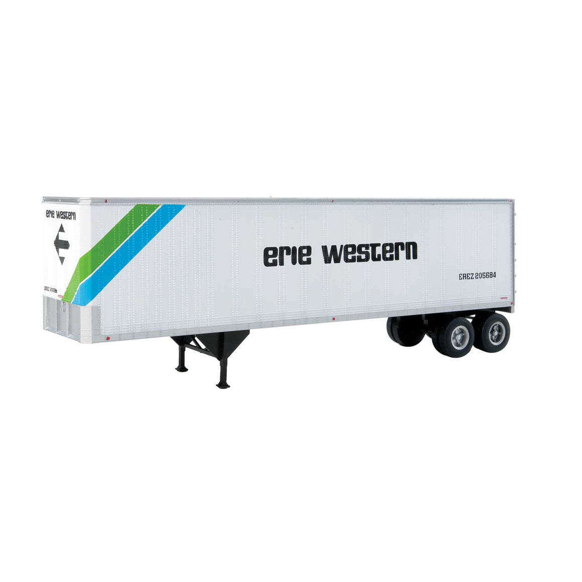 HO Scale: 40' Trailmobile Trailer - Erie Western - 2-Pack