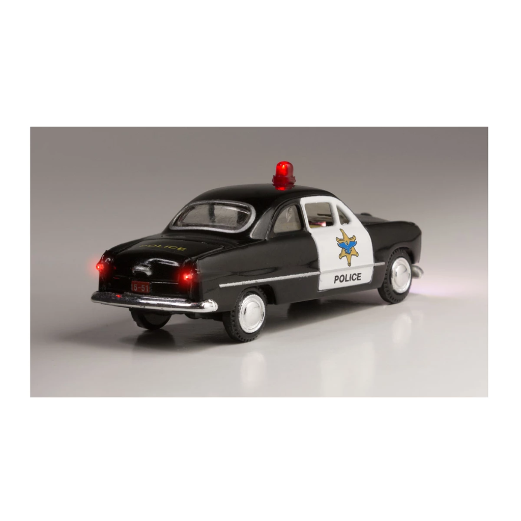 HO Scale: Just Plug® - Lighted Vehicle: Police Car
