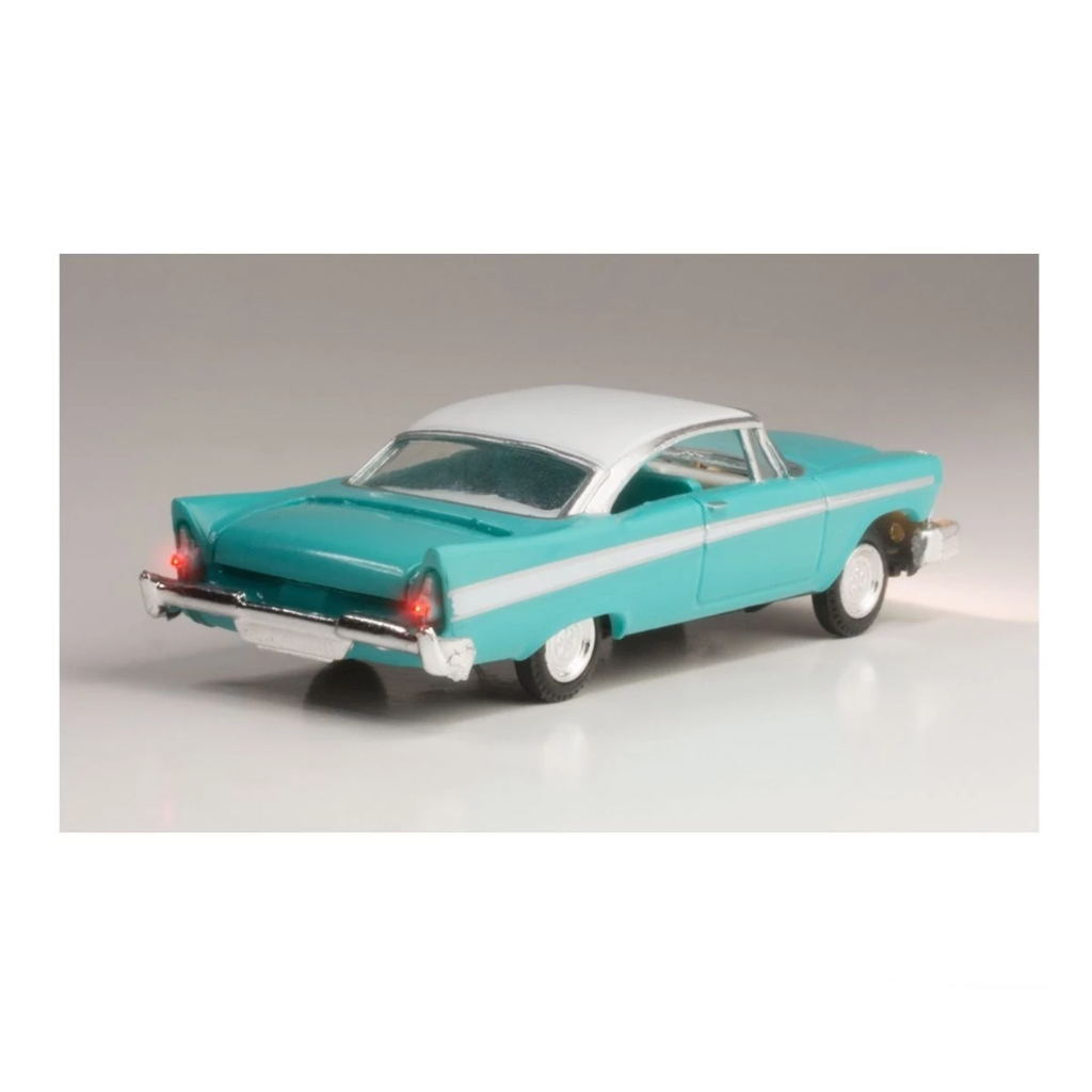 HO Scale: Just Plug® - Lighted Vehicle: Fancy Fins