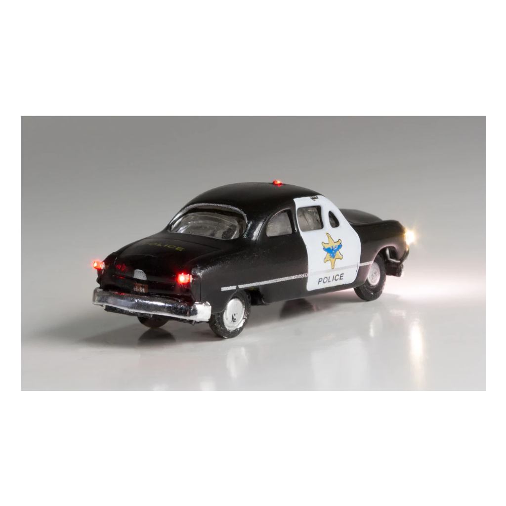 N Scale: Just Plug® - Lighted Vehicle: Police Car
