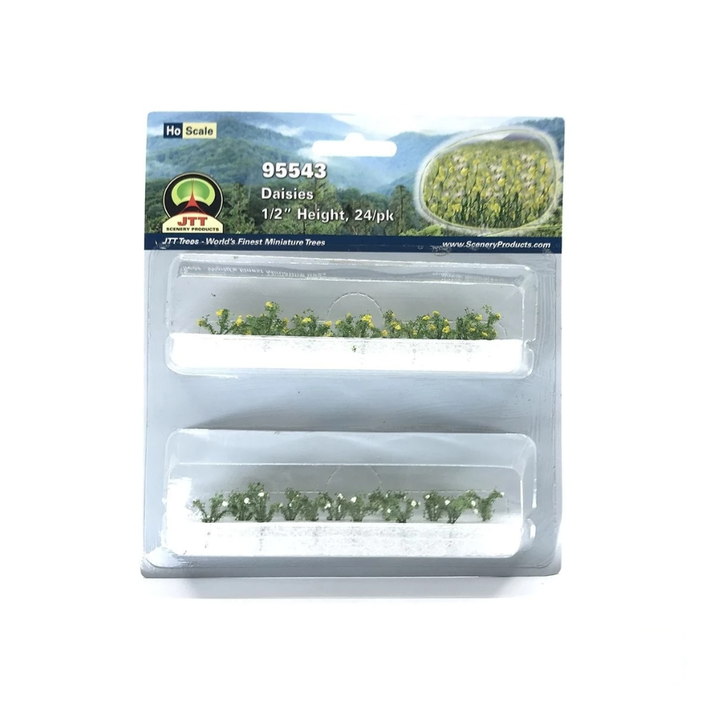 HO Scale: Daisies - 24 Pack