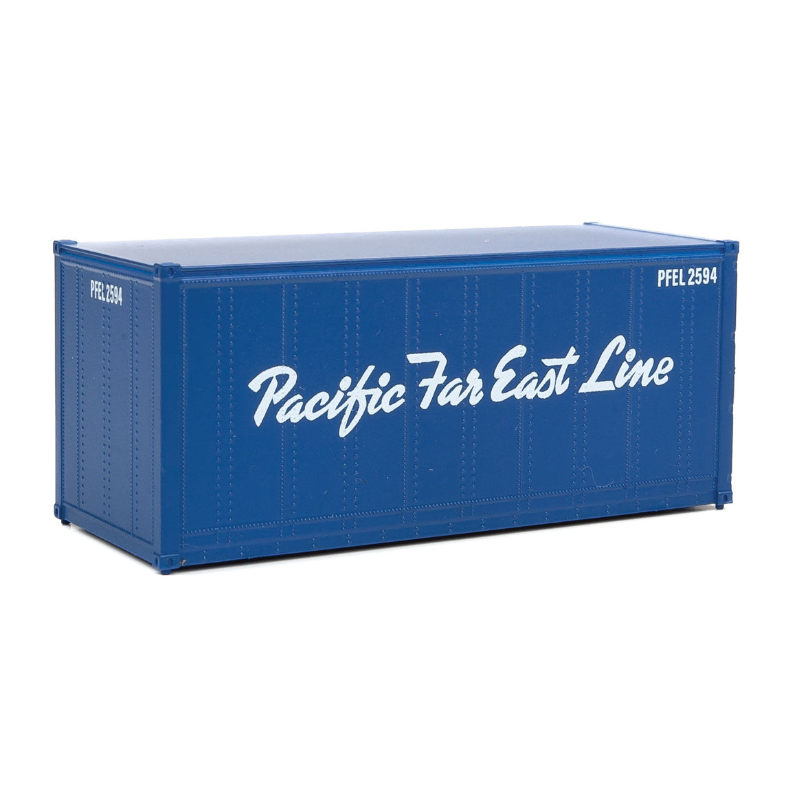 HO Scale: 20' Smooth-side Container - Pacific Far East Line