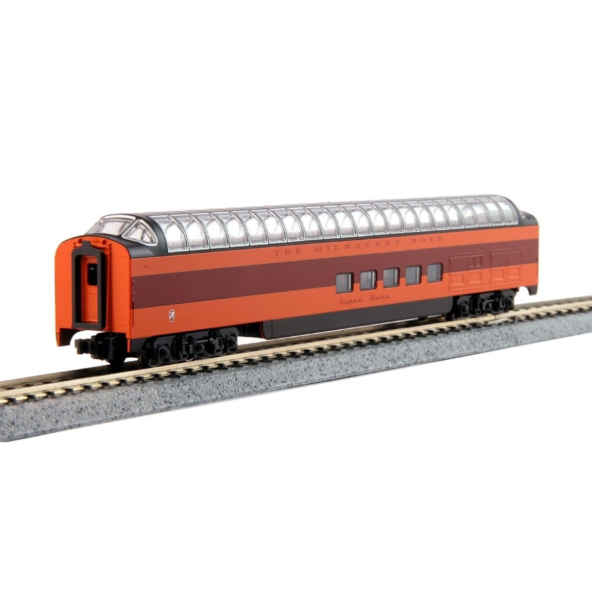 "N Scale: Milwaukee Road ""Olympian Hiawatha"""