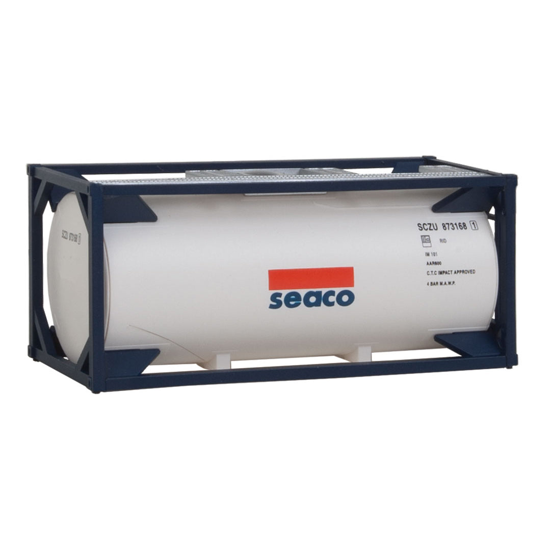 HO Scale: 20' Tank Container - Seaco - Kit